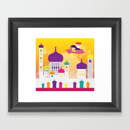 me and you Framed Art Print
