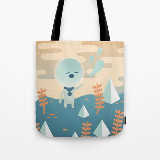 Space Traveler Tote Bag