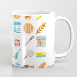 CUTE BAKERY PATTERN (CUTE CHEF BAKER) Coffee Mug