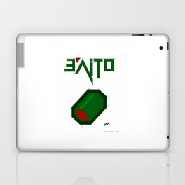 e'aitO - evolution of a sketch to this image :D Laptop & iPad Skin