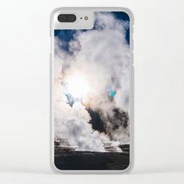 Tatio Geysers in the Atacama Desert, Chile Clear iPhone Case