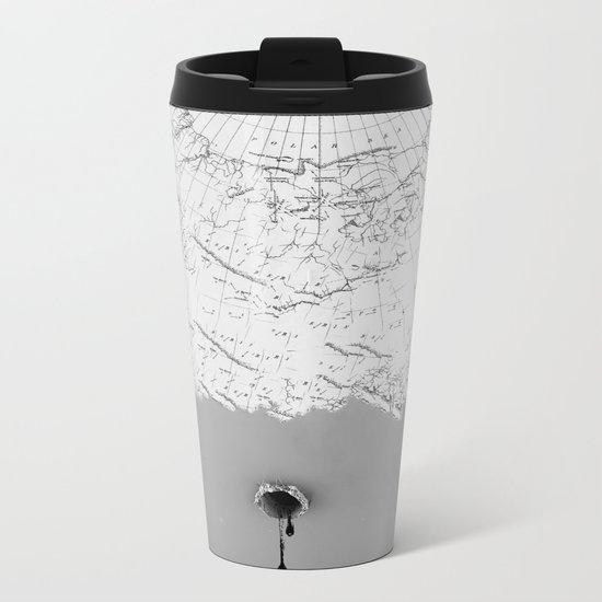 Draining Alaska Metal Travel Mug