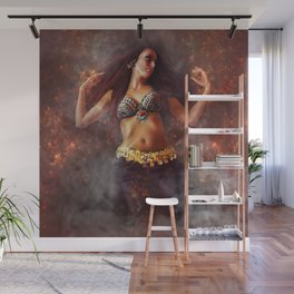 The Passion Of Fire Wall Mural