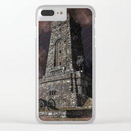 Shipka tower Bulgaria Clear iPhone Case