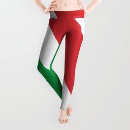 National Flag of Italy Leggings