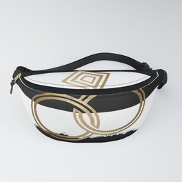 Gold Wedding Rings Fanny Pack