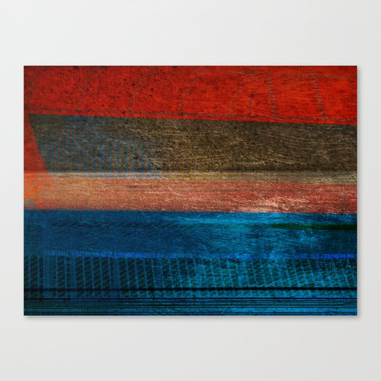Chalked Filthy And Worn Canvas Print