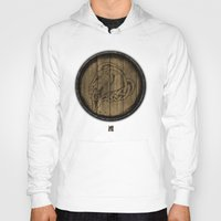 skyrim Hoodies featuring Shield's of Skyrim - Whiterun by VineDesign