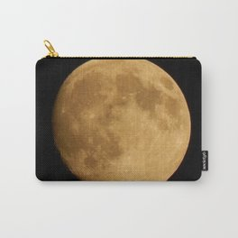 Nearly Full Moon Carry-All Pouch