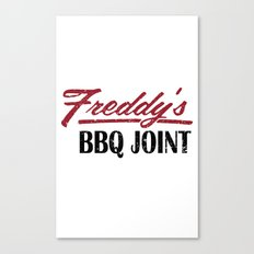 Freddy's BBQ Joint Canvas Print