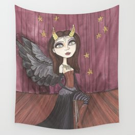 Dark Angel Wall Tapestry