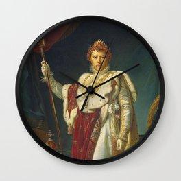 Francois Gerard - Napoleon Bonaparte Wall Clock