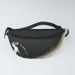 Moon and cats Fanny Pack