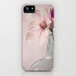 Flowers in Bottle iPhone Case