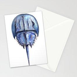 Blue Horseshoe Crab Stationery Cards