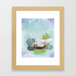 Unfamilar Places Framed Art Print