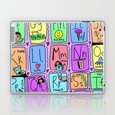 Alphabet Laptop & iPad Skin