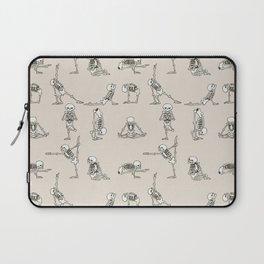 Skeleton Yoga Laptop Sleeve