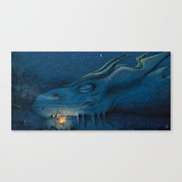 In League with Dragons #3 Art Print (Remaster 1) Canvas Print