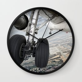 Visual approach Wall Clock