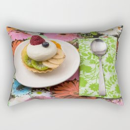 tart from fruit Rectangular Pillow