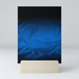 Sapphire Blitz Mini Art Print