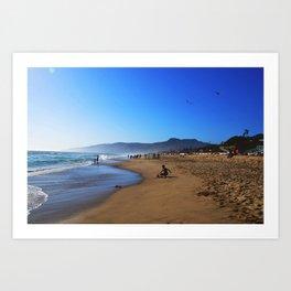 Malibu Marine Layer Art Print