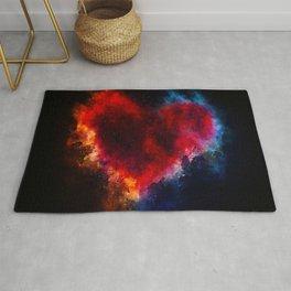 Cosmic Heart Rug