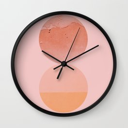 Abstraction_Circles_ART_Minimalism_001 Wall Clock