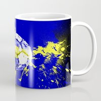 sweden Mugs featuring football Sweden  by seb mcnulty