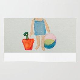 Toddies Summer Beach Holiday Baby Girl Rug