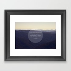 You're off to great places ... Framed Art Print