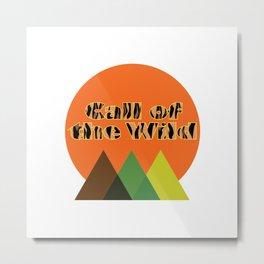 Call of the Wild Metal Print
