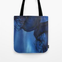 jellyfish Tote Bags featuring Jellyfish by Dana Martin