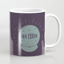 404 error - Crystal ball Coffee Mug