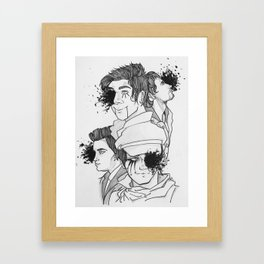 A Fever You Can't Sweat Out Framed Art Print