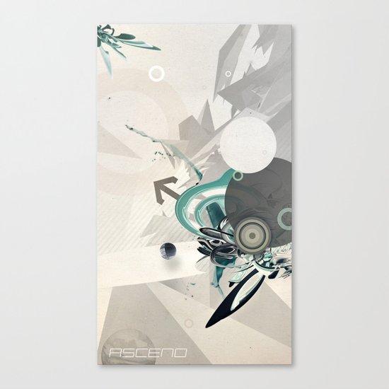 ASCEND (version zero) Canvas Print
