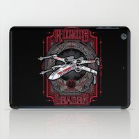 rogue iPad Cases featuring Rogue Leader by Buzatron