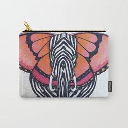 Elephant/Zebra/Butterfly Carry-All Pouch