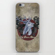 My Deer Friend / Version 2 iPhone Skin