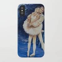 ballet iPhone & iPod Cases featuring ballet by Eva Gudmunds