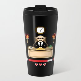 Final Boss Metal Travel Mug