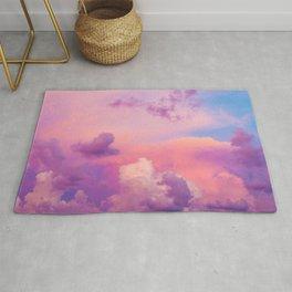 Pink & Purple Clouds Rug