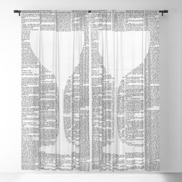The Great Gatsby Sheer Curtain