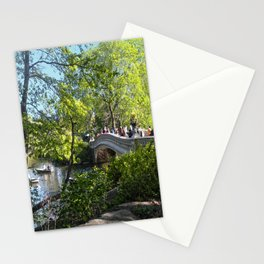Bow Bridge- Central Park- NYC Stationery Cards