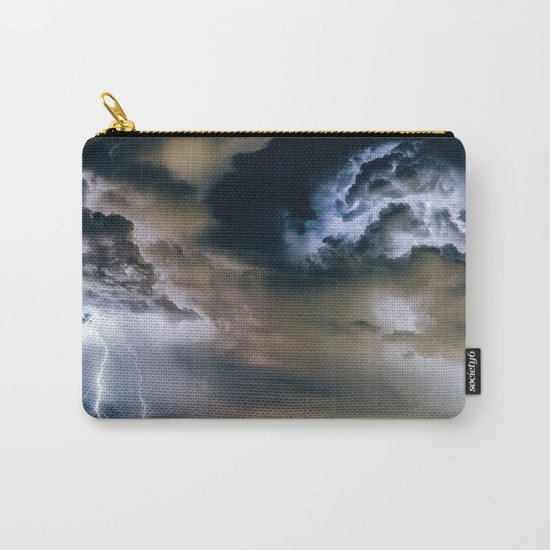 Lightning #clouds Carry-All Pouch
