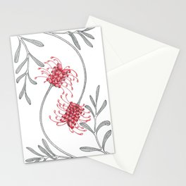 Grevillea Twist Stationery Cards
