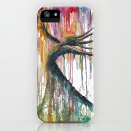 Raining Rainbows iPhone Case