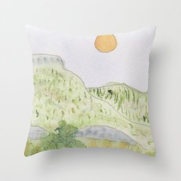 Lincoln National Forest New Mexico Throw Pillow