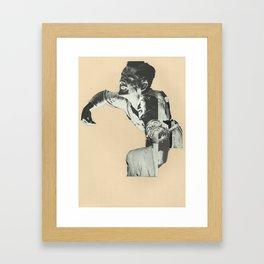Drop a Dime Framed Art Print